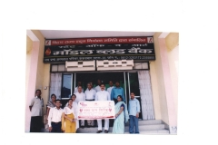 Participation in Blood Donation Camp